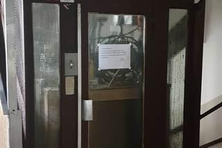 nový výtah v Jinonické