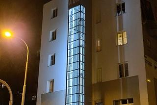 nový osobní výtah v Plzeňské ulici