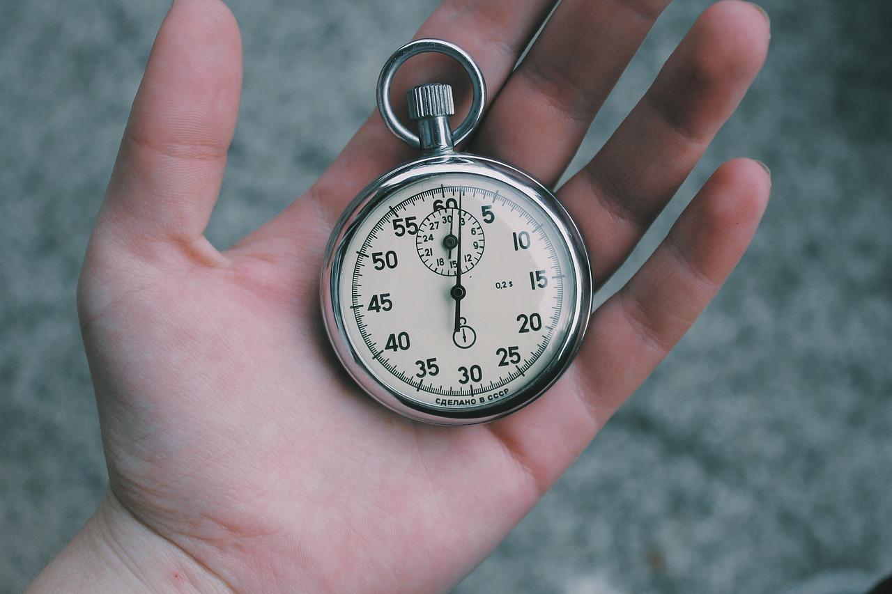 Rychlost vám dává cenný čas