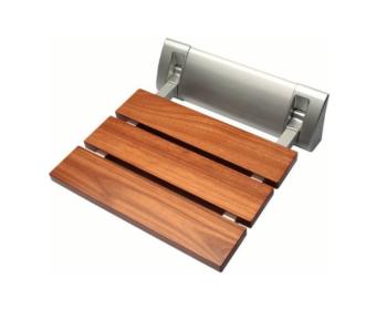 sklopné sedátko, dřevo